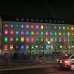Photo taken at Rathaus Berlin-Neukölln by snarkle on 11/16/2012