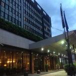 Photo taken at Hilton Milan Hotel by Benedetta B. on 5/22/2013
