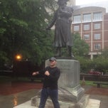 Photo taken at Robert Morris Statue by Bryan M. on 6/7/2013