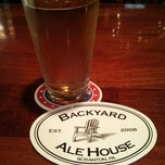 Photo taken at Backyard Ale House by Elwyn L. on 6/16/2013