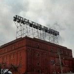 Photo taken at Saranac Brewery (F.X. Matt Brewing Co.) by Brian D. on 12/12/2012