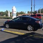 Photo taken at Beach & La Mirada Car Wash by Suzy R. on 10/28/2012