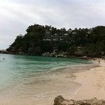 Photo taken at Diniwid Beach, Boracay by Marlon H. on 3/8/2013