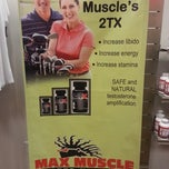 Photo taken at Max Muscle Cobb by Dwayne K. on 1/12/2013