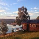 Photo taken at Särna Camping by Filip M. on 7/25/2013