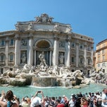 Photo taken at Fontana di Trevi by Peter K. on 6/19/2013