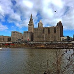 Photo taken at Cuyahoga River by Jaber M. on 3/30/2015