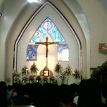 Photo taken at Gereja Katolik St. Mikael Gombong by Maximos A. on 12/24/2012