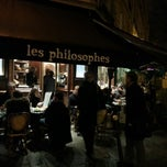Photo taken at Les Philosophes by Carl T. on 1/11/2013