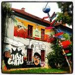 Photo taken at AKC Metelkova mesto by geheimtip ʞ. on 9/30/2012
