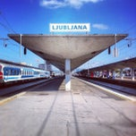 Photo taken at Železniška postaja Ljubljana / Train Station by geheimtip ʞ. on 10/3/2012