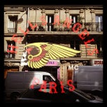 Photo taken at Hells Angels Paris by Clemence H. on 9/20/2012