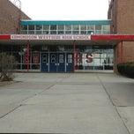 Photo taken at Edmondson High School by Andrew S. on 3/8/2013