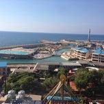 Photo taken at Beirut Luna Park by Ayhan H. on 5/24/2014