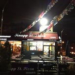 Photo taken at Knapp St Pizza by Dean H. on 2/21/2013