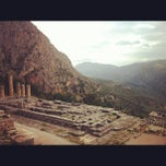 Photo taken at Ναός του Απόλλωνα (Temple of Apollo) by Argyris T. on 10/28/2012