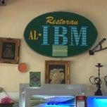 Photo taken at Restoran AL-IBM by Norfirdaus H. on 11/14/2012