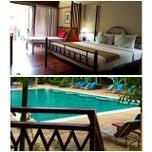 Photo taken at Ayodhaya Suites Resort & Spa by HweeYi C. on 10/5/2014