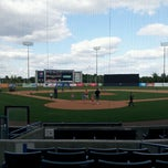 Photo taken at George M. Steinbrenner Field by Irene A. on 4/6/2013