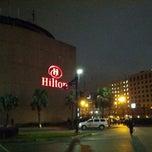 Photo taken at Hilton New Orleans Riverside by alberto on 3/2/2013