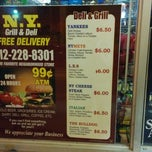 Photo taken at New York Grill & Deli by Andrew F. on 9/15/2014