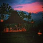 Photo taken at Plataran Borobudur Resort & Spa by Candra Bayu A. on 3/14/2015