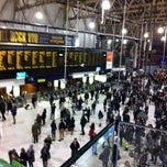 Photo taken at London Waterloo Railway Station (WAT) by Muhsin M. on 11/10/2012