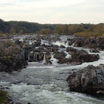 Photo taken at Great Falls Park by Joe M. on 10/14/2012