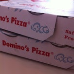 Photo taken at Domino's Pizza by Mahdzar F. on 2/16/2013