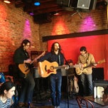 Photo taken at Rockwood Music Hall by Adam W. on 2/10/2013