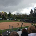 Photo taken at Howe Field by Ally L. on 4/13/2013
