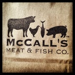 Photo taken at McCall's Meat & Fish Company by Joel D. on 12/30/2012