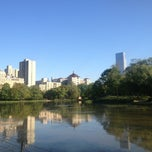 Photo taken at Central Park - Harlem Meer by John T. on 5/14/2013