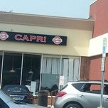 Photo taken at Capri Pizza & Pasta by Anthony M. on 6/21/2013