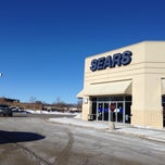 Photo taken at Sears by Lina on 1/25/2014