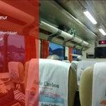 Photo taken at Kereta api cirebon express by mantugaul on 6/12/2013