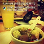 Photo taken at Makassar Suki Cafe and Resto by lily, j. on 12/13/2012