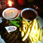 Photo taken at Holycow! Steakhouse by diah m. on 1/19/2013