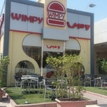 Photo taken at Wimpy by Mariam B. on 6/29/2013