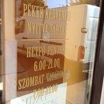 Photo taken at Péklegény pékárubolt by Robert S. on 7/10/2013