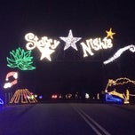 Photo taken at Starry Nights by Rebecca S. on 12/17/2013