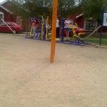 Photo taken at Plaza de Juegos El Pedernal by Roger C. on 10/28/2012