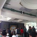 Photo taken at Masjid Al-Ikhlas (Belakang BIP) by Armein H. on 3/13/2015