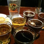 Photo taken at Hops Restaurant Bar & Brewery‎ by Jennifer P. on 4/11/2013