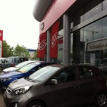 Photo taken at Indumotora Kia by Daniel Andrés A. on 10/8/2012