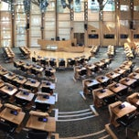 Photo taken at Scottish Parliament by Mehrdad A. on 5/19/2015