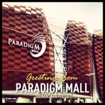 Photo taken at Paradigm Mall by Gunta R. on 7/2/2013