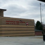 Photo taken at Hartsville High School by Todd R. on 3/2/2013