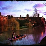 Photo taken at Cambridge by Valentina C. on 1/1/2013