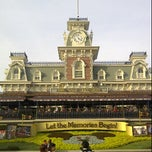 Photo taken at Walt Disney World Railroad - Main Street Station by DJ Wolf on 11/4/2012